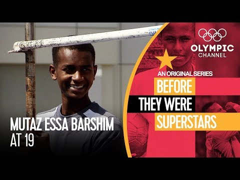 High Jump Star Mutaz Barshim as a Teenage | Before They Were Superstars