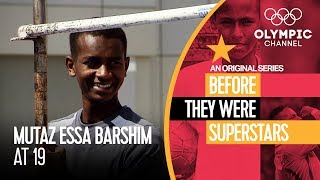 High Jump Star Mutaz Barshim as a Teenage | Before They Were Superstars
