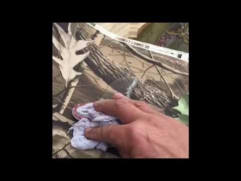 Durable Waterproof Camo Fabric