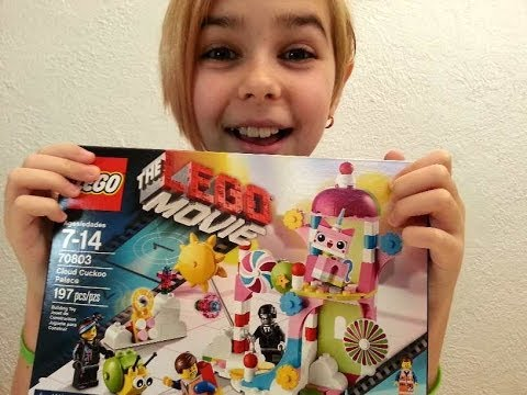 LEGO - The Lego Movie Cloud Cuckoo Palace Review!