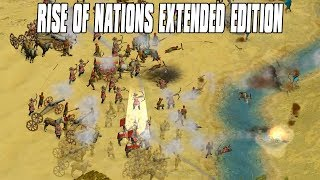 Rise of Nations Extended Edition 3v3 Multiplayer - Korean Domination