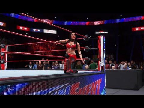 WWE 2K20 - Tamina and Brie Bella VS Kelly Kelly and Beth Phoenix