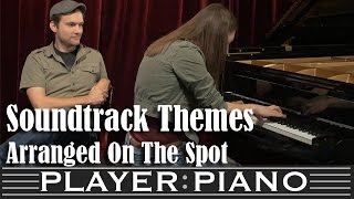 Player Piano Does Soundtrack Themes...On The Spot!
