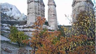 Antalya à la Cappadoce : Cheminees.de fée