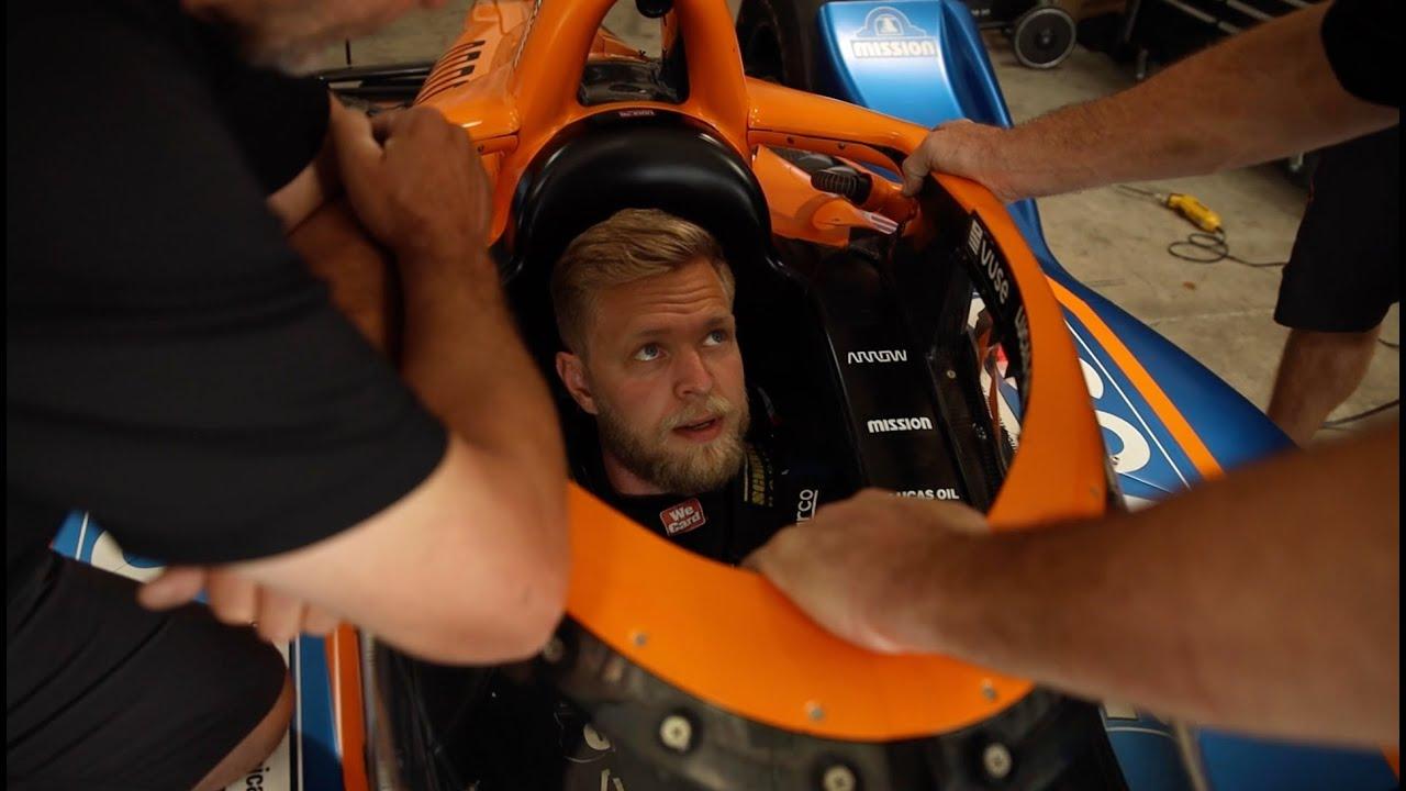 Kevin Magnussen INDYCAR Seat Fit