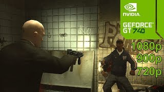 Hitman 4: Blood Money GamePlay [PC] in Nvidia Geforce GT 740 2GB - No Commentary Part 1