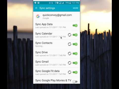 How To Backup And Restore Or Sync Contacts From Google Account On Android Mobile Phone