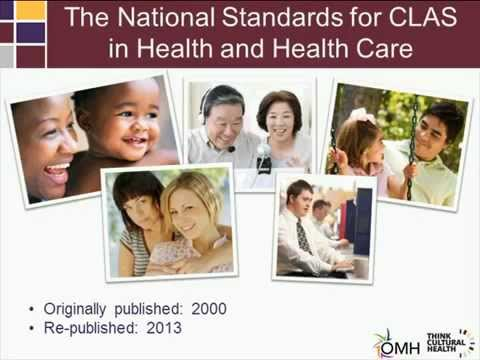 The National CLAS Standards in Health and Health Care: A Tool for Tribal Communities