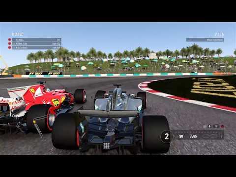 F1 2017 Definitivamente es más fácil. Malasia - Hamilton