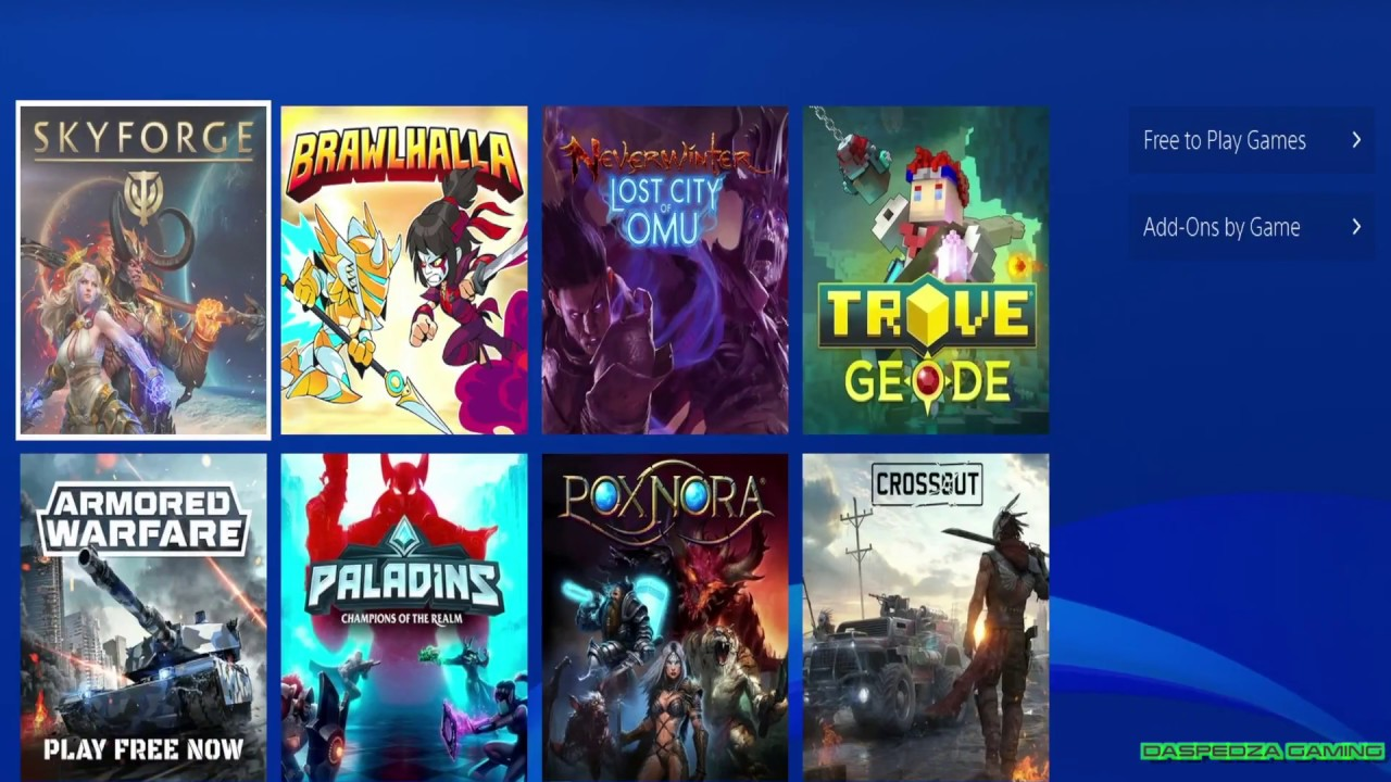 Best Free Ps4 Games Reddit