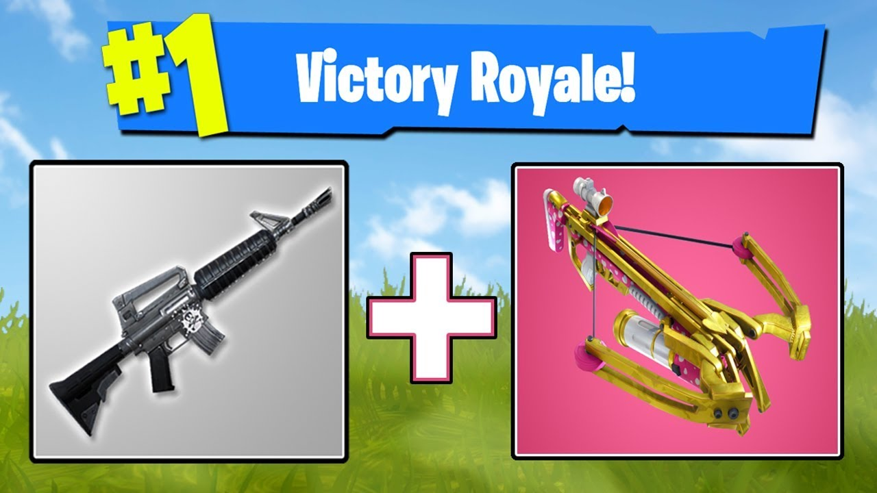 how to start with guns fortnite