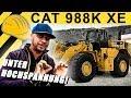 JP Performance - Unter Hochspannung | Der Diesel Elektrische Radlader CAT 988K XE | Steinexpo