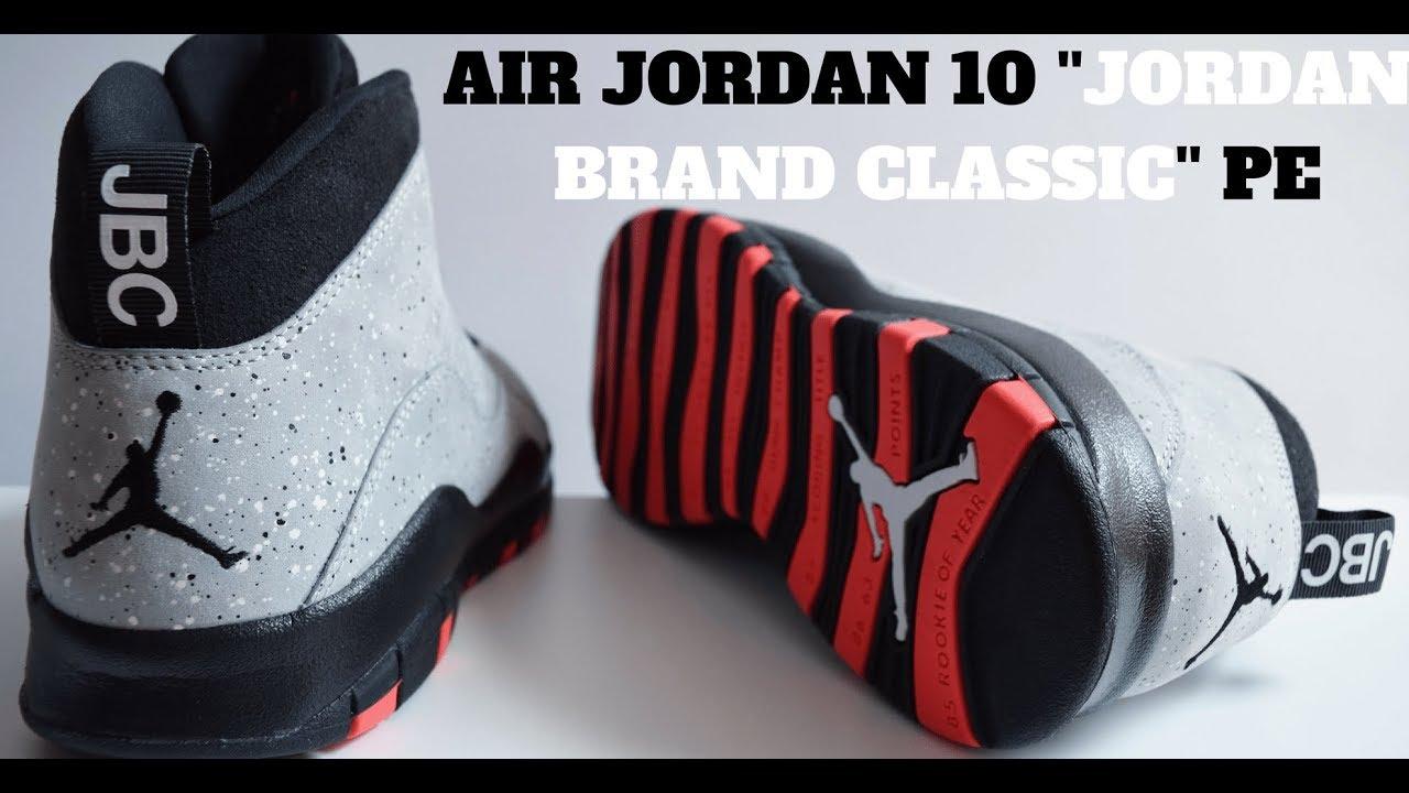 0be24aacd53614 REVIEW  AIR JORDAN 10 RETRO JORDAN BRAND CLASSIC PE