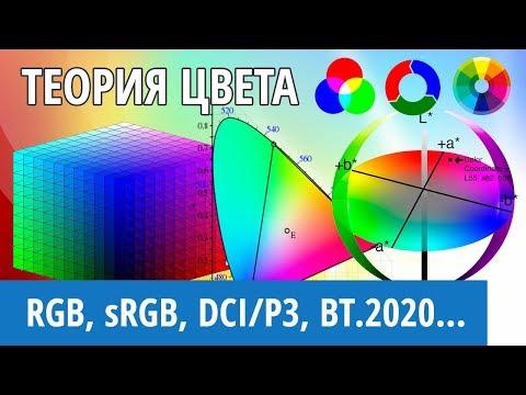 Теория цвета: что такое RGB, sRGB (REC.709), DCI-P3, BT.2020 и цветовое пространство CIE1931