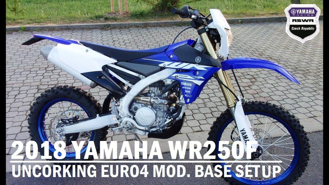2018 Yamaha Wr250f Uncorking Euro4 Basic Setup Mods Youtube Wr450 Wiring Diagram