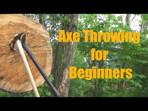 Learn to Throw Axes Quickly: Beginners Tutorial