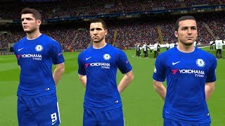 Chelsea vs Atletico Madrid UCL 5 December 2017 Gameplay