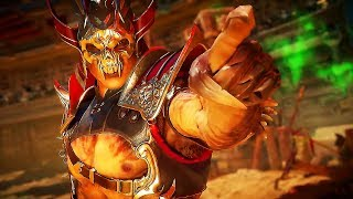 """MORTAL KOMBAT 11 """"Shao Kahn"""" Bande Annonce de Gameplay (2019) PS4 / Xbox One / PC"""
