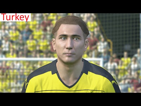 PES 2016 - EMRE MOR (Dortmund/turkey) FACE+STAT
