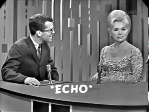 PASSWORD 19640116 Eva Gabor & Paul Anka