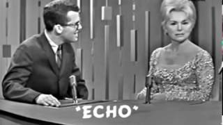 PASSWORD 1964-01-16 Eva Gabor & Paul Anka