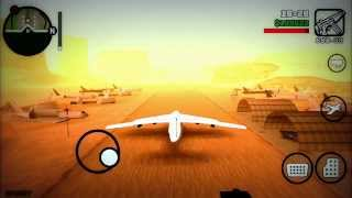 "GTA San Andreas - HOW TO GET ANDROMADA ""Secret Cargo Plane"" ""GTA SA iOS iPod iPad iPhone"""