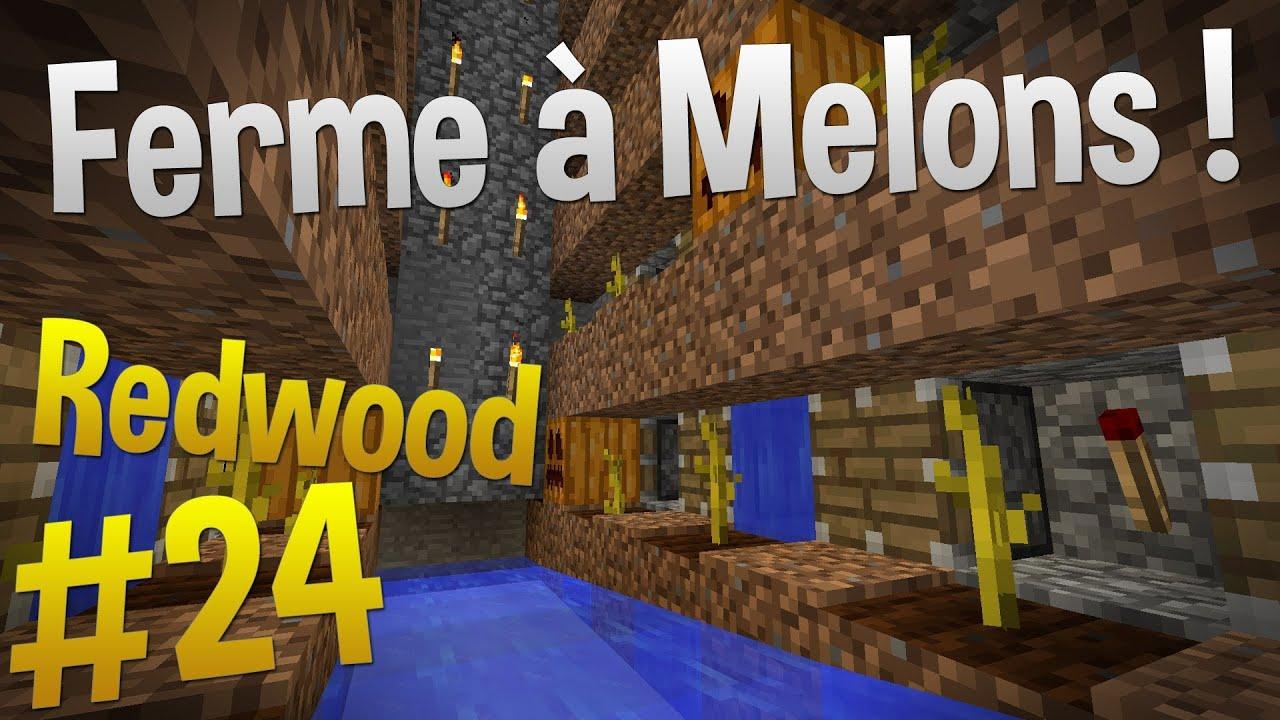 usine citrouilles et melons automatique episode 24 serveur redwood minecraft youtube. Black Bedroom Furniture Sets. Home Design Ideas