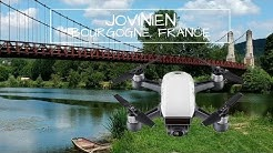 DJI Spark Burgundy Cinematic Footage - Drone Joigny, Jovinien, Yonne