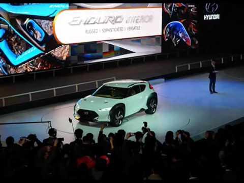 All New 2015 Hyundai Enduro Concept Youtube