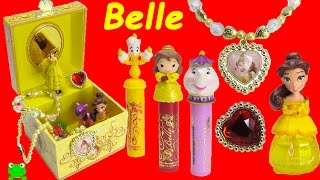 Beauty and the Beast Music Box Disney Princess Belle Lip Balms and Surprises