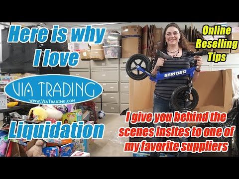 Why I Love Via Trading Liquidation - Behind the Scenes Info on my Supplier