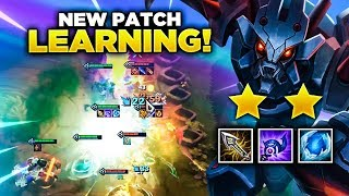 Gambar cover LEARNING NEW PATCH! | TFT | Teamfight Tactics