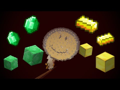 Minecraft Automatic Emerald / Gold Farm + Ghast Tears / Magma Cream (Tutorial)