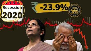India into recession | Indian Economic Crisis 2020