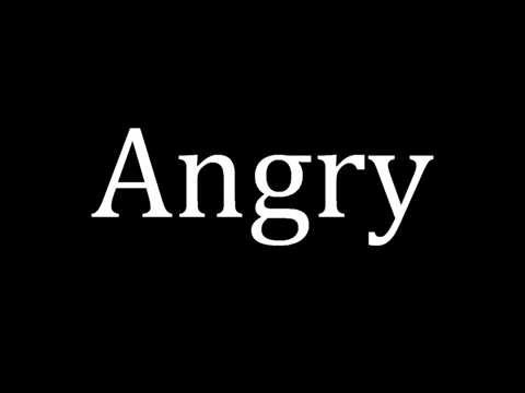 Synonyms for Angry (Thesaurus)