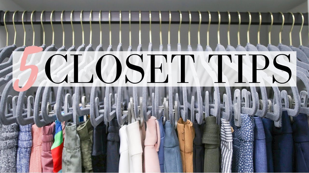 Download CLOSET ORGANIZATION - 5 Easy Tips to Organize Your Closet   LuxMommy
