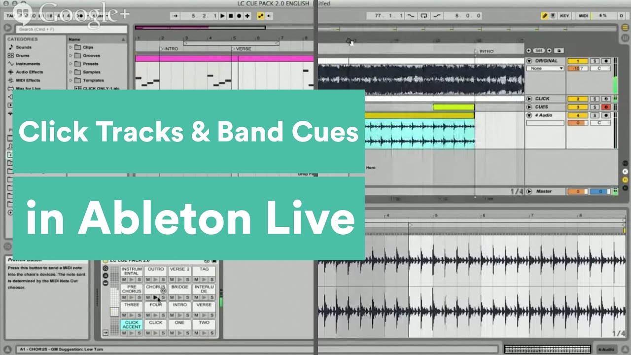 How to Create Click Tracks and Band Cues in Ableton Live