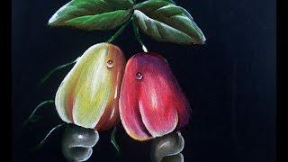 Como pintar em tecido Preto ou outra cor