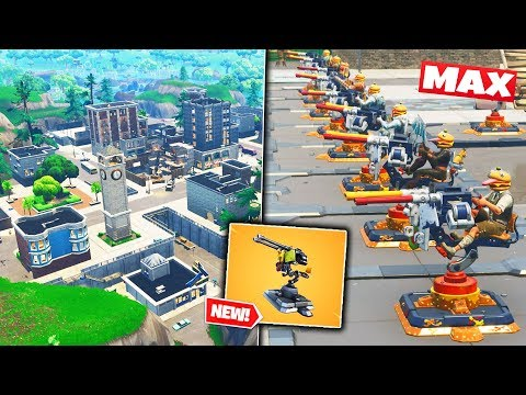 MAX TURRETS Vs TILTED TOWERS