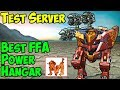 War Robots Test Server [4.0] Best Free For All Hangar - WR FFA Gameplay