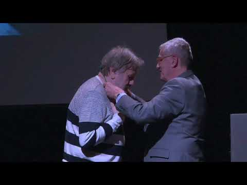 Slavoj Žižek receives the Gold Medal English, May 2018