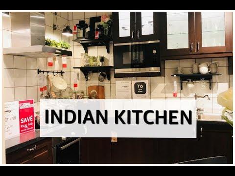 Indian Kitchen Tour & Organiztion || Small kitchen Storage Ideas