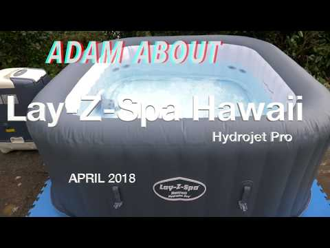 Lay-Z-Spa Hawaii Hydrojet Pro - unboxing and set up