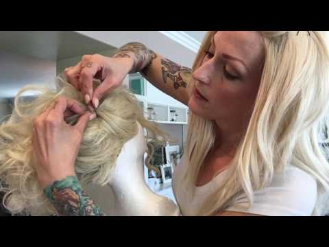 Pin-up wig tutorial