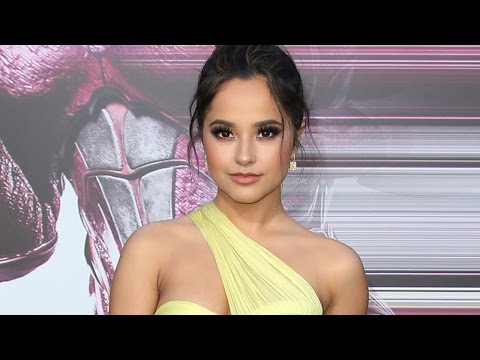 Thumbnail: Becky G Gives PERFECT Response To Playing LGBTQ Superhero & Stuns On Power Rangers Red Carpet