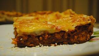 Кулинария. Рецепт лазаньи из лаваша