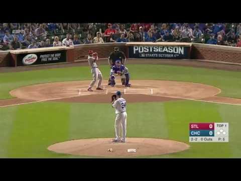September 25, 2016-St  Louis Cardinals vs. Chicago Cubs