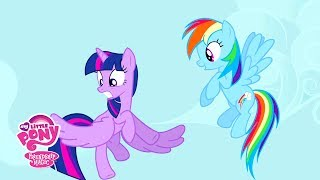 MLP: Friendship is Magic Season 4 - 'Twilight Sparkle's Flying Lessons' Official Clip