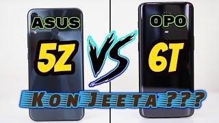 OnePlus 6T Vs Zenfone 5Z, Honest Comparison, Ladai Barabar Ki, Kon Jeeta?