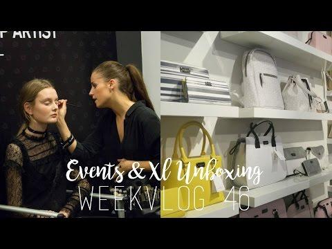 EVENTS & XL GOODIEBAG - WEEKVLOG 46